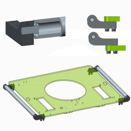 SIMA Biegebolzen-Kit für Betonstahl Maschinen