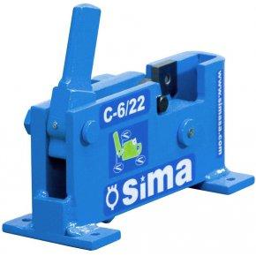 SIMA Betonstahl Schneidemaschine C6/22  22mm 1º